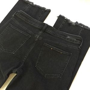 Pilcro and the Letterpress Raw Hem Jeans